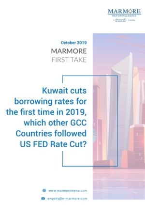 Kuwait cuts borrowing rates for the first time in 2019, which other GCC Countries followed US FED Rate Cut?