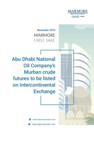 Abu Dhabi National Oil Company's Murban crude futures to be listed on Intercontinental Exchange